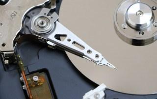 Hard disk platter (Backing up your Data)