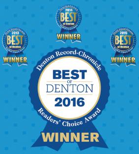 Best of Denton Awards 2013-2016