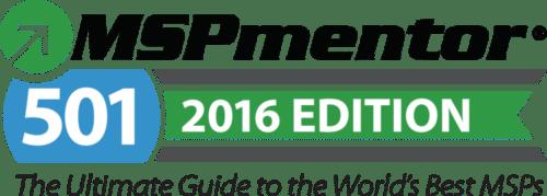 MSPmentor 501 2016