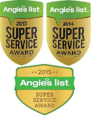 Angie's List Super Service Award Logos