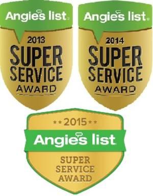 Angie's List Super Service Award Logos