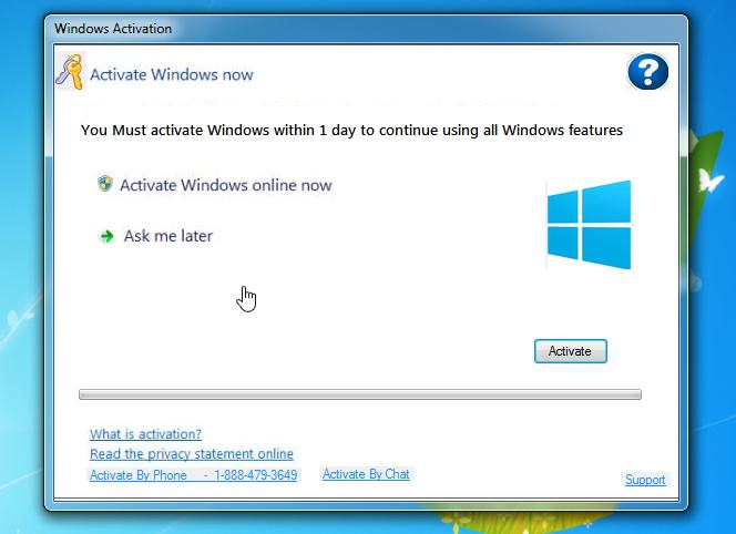 Windows activation fake tech support scams fake windows activation popup ccuart Images