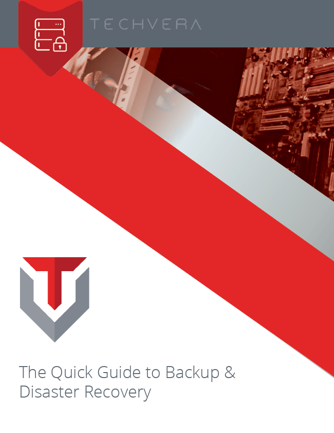 The Quick Guide to Backup and Disaster Recovery