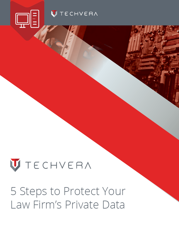 5 Steps to Protect Your Law Firm's Private Data